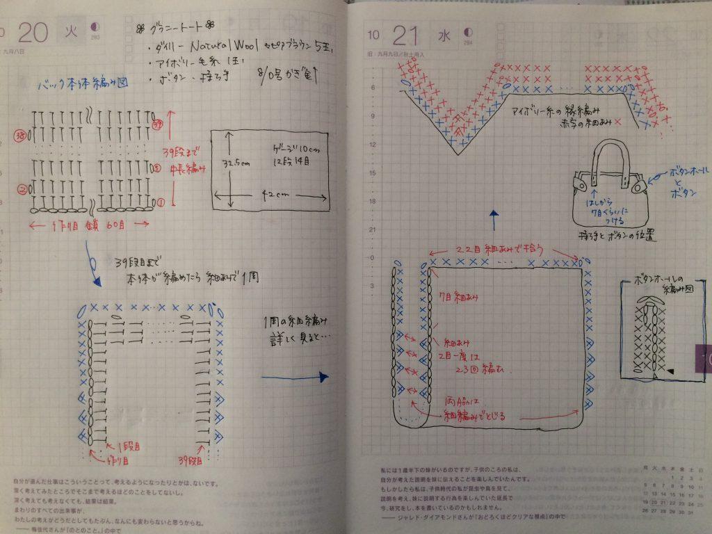 グラニートート編み図