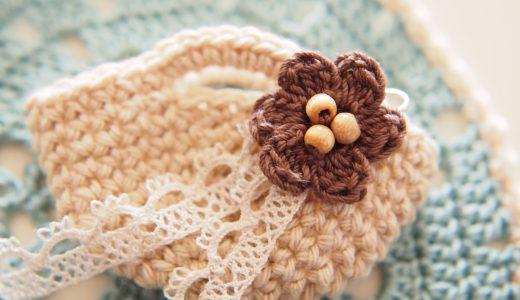 かぎ針編み初心者さん向け|ミニマルシェバッグ−3編み方の解説