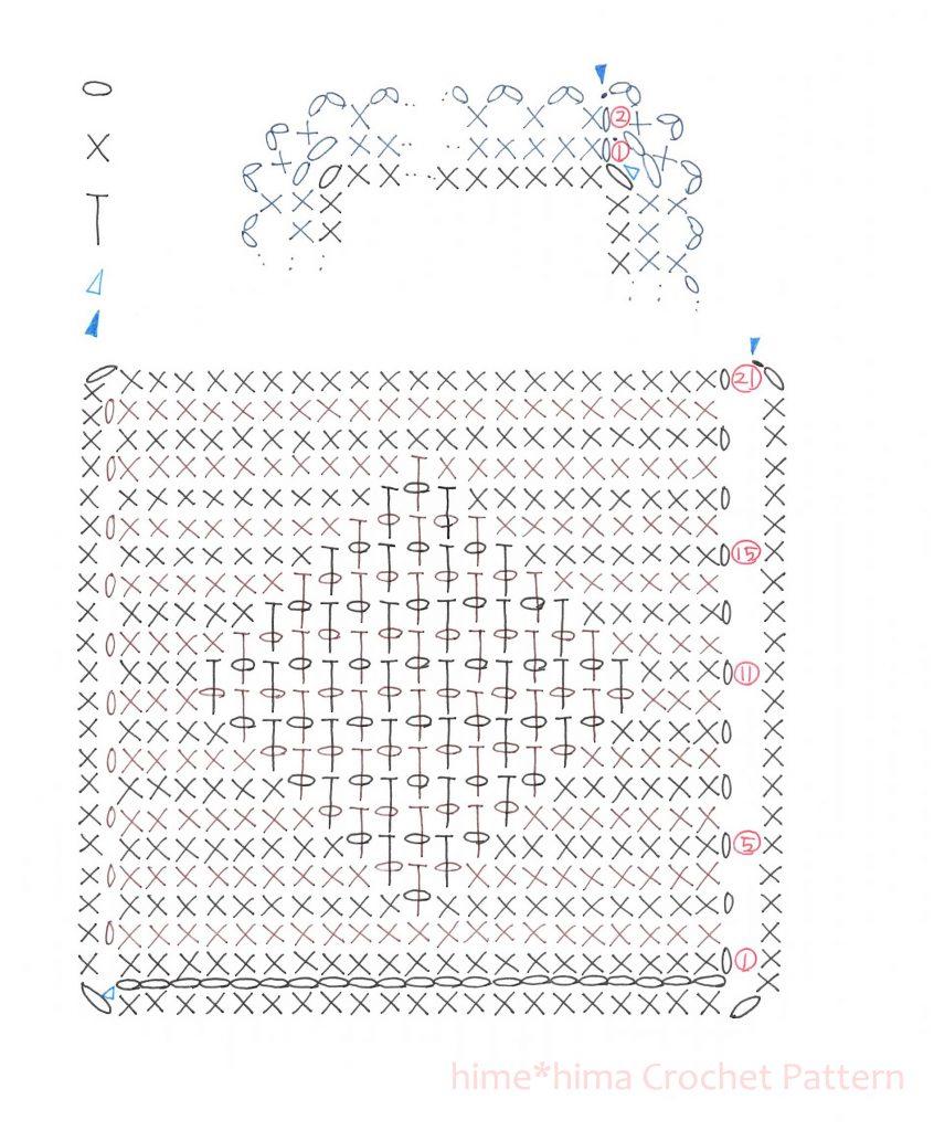 #100ドイリー 10枚目編み図