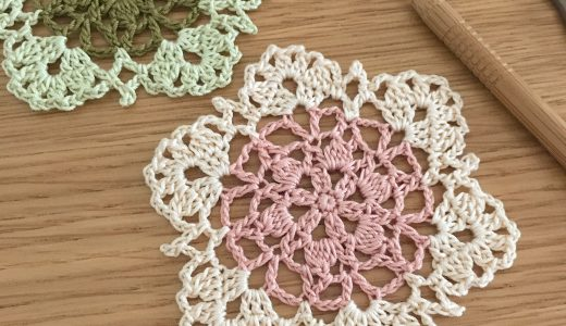 レース編み|#100ドイリー 14枚目の編み図