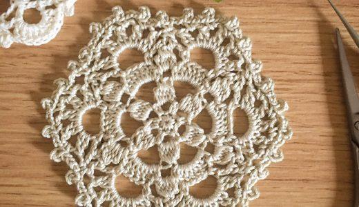 レース編み|#100ドイリー 73枚目の編み図