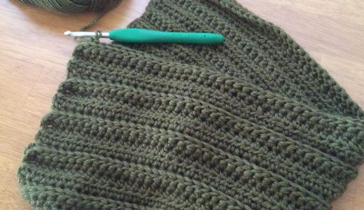 かぎ針編み|平らに編むときに気をつけること(グラニーバッグ追記 )