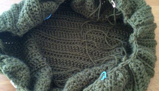 かぎ針編み|グラニーバッグ−4持ち手部分その2