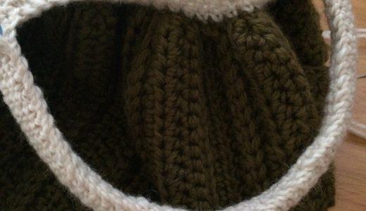 かぎ針編み|グラニーバッグ−6仕上げ方