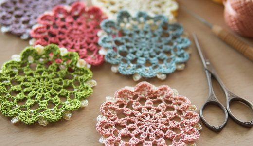 刺繍糸で編む|#100ドイリー 55枚目の編み図