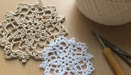 レース編み|#100ドイリー 9枚目の編み図