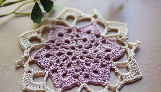 レース編み|#100ドイリー 26枚目の編み図