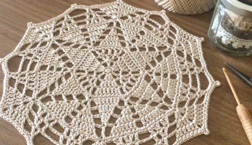 レース編み|#100ドイリー 99枚目の編み図