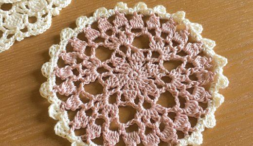 レース編み|#100ドイリー 3枚目の編み図