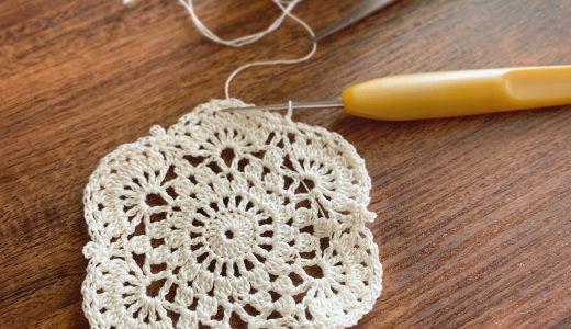 レース編み|#100ドイリー 88枚目の編み図