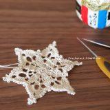 クリスマスオーナメントになる星の形のモチーフ