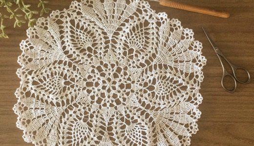 レース編み|#100ドイリー 100枚目の編み図