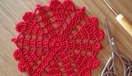 レース編み|#100ドイリー 87枚目の編み図