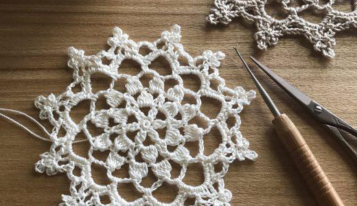 レース編み|#100ドイリー 38枚目の編み図