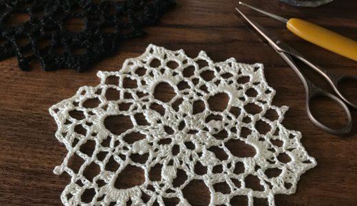 レース編み|#100ドイリー 62枚目の編み図