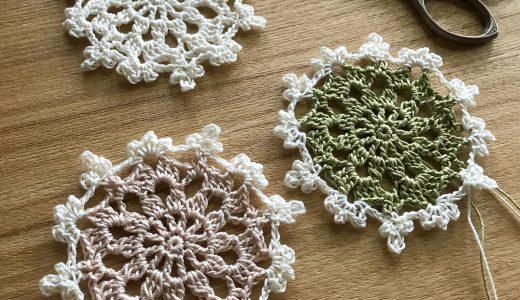 レース編み|雪の結晶モチーフ #100ドイリー 11枚目の編み図