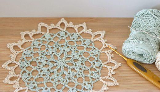 レース編み|中サイズドイリー #100ドイリー 92枚目の編み図