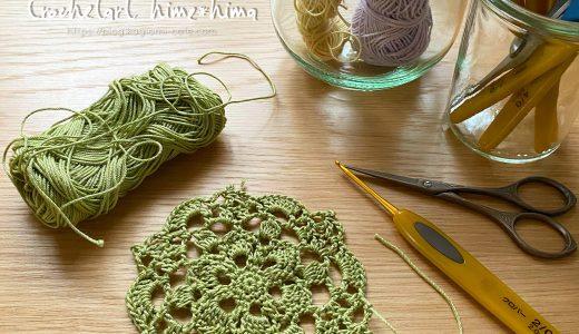 レース編み|#100ドイリー 15枚目の編み図
