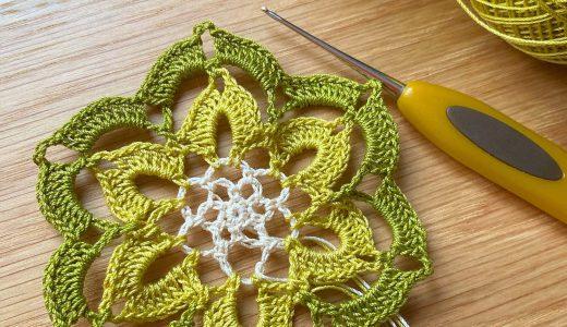 レース編み|#100ドイリー 44枚目の編み図
